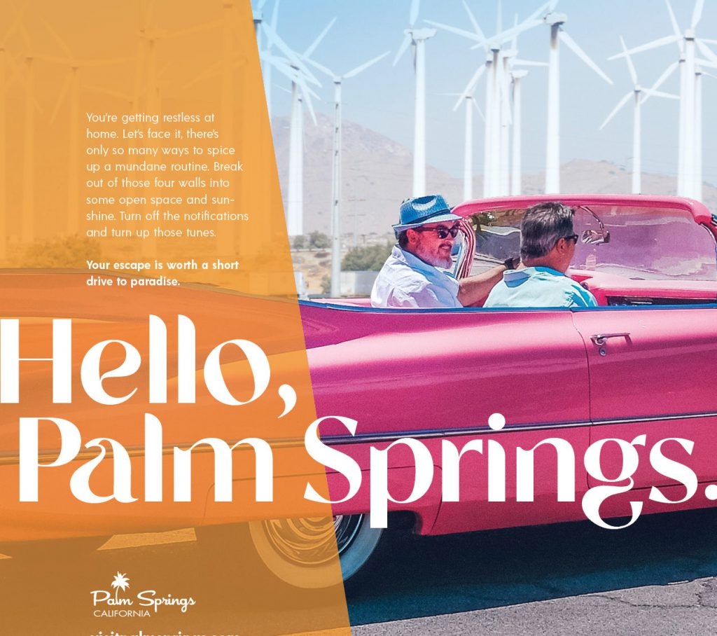 Hello Palm Springs Ad
